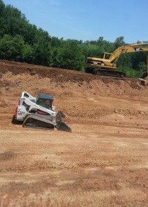 land grading and leveling