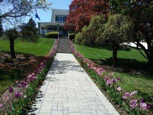 lake norman brick walkway