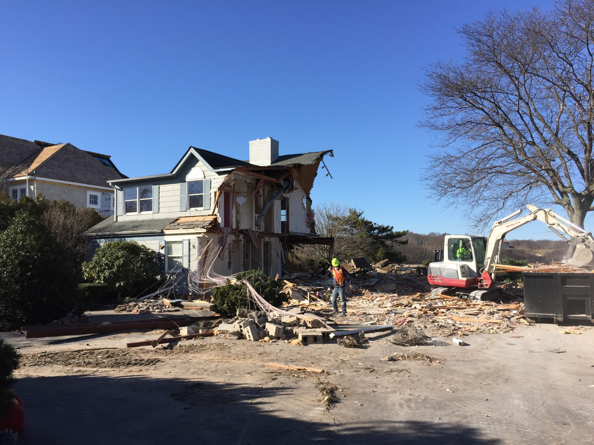 house demolition march 2017