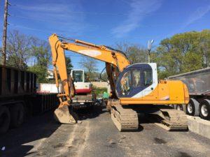 excavator samsung